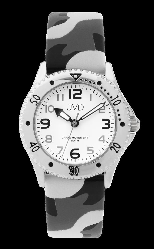 JVD Maskáčové dětské chlapecké náramkové hodinky JVD J7203.2