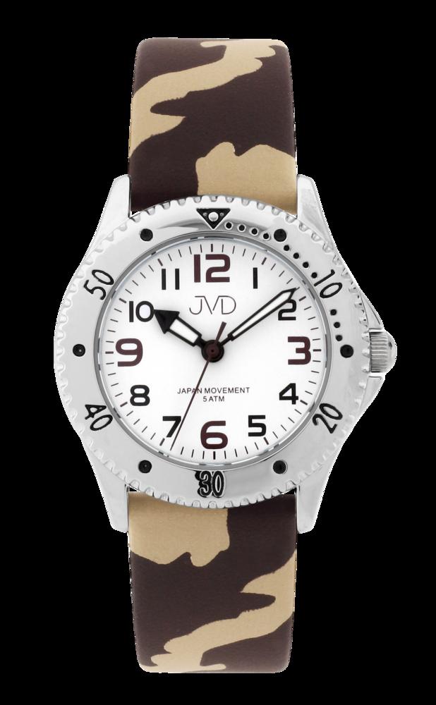JVD Maskáčové dětské chlapecké náramkové hodinky JVD J7203.1