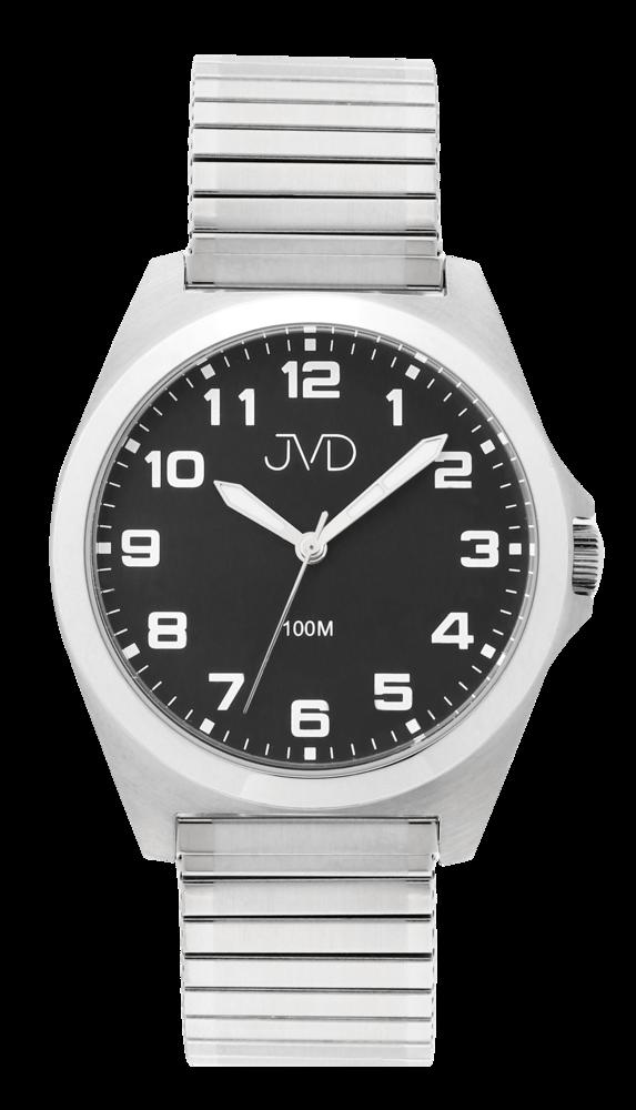 JVD Pánské vodotěsné náramkové hodinky na pružném řemínku JVD J1129.2
