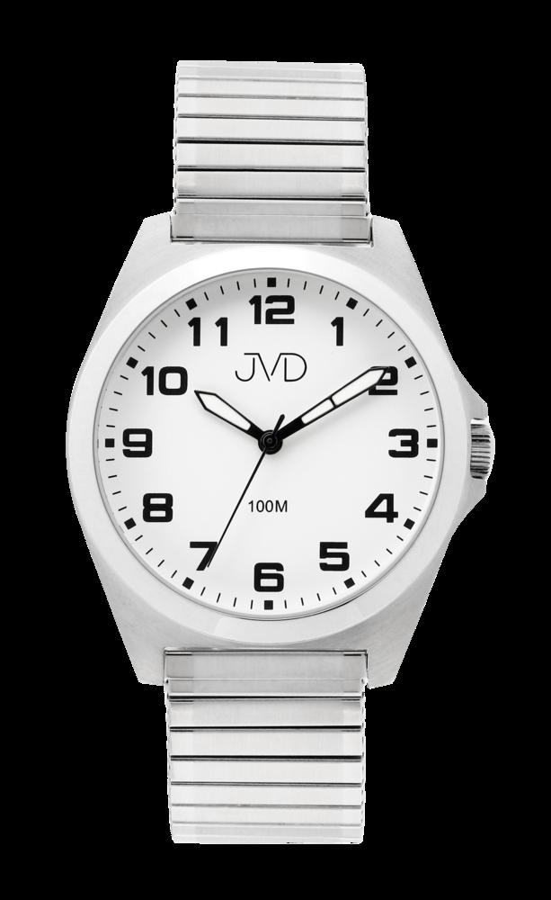JVD Pánské vodotěsné náramkové hodinky na pružném řemínku JVD J1129.1