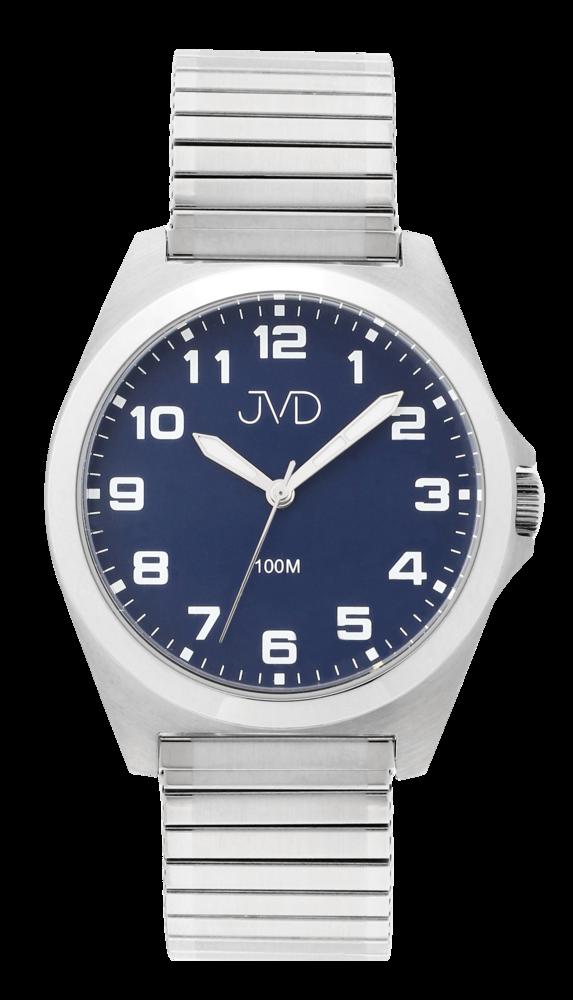 JVD Pánské vodotěsné náramkové hodinky na pružném řemínku JVD J1129.3