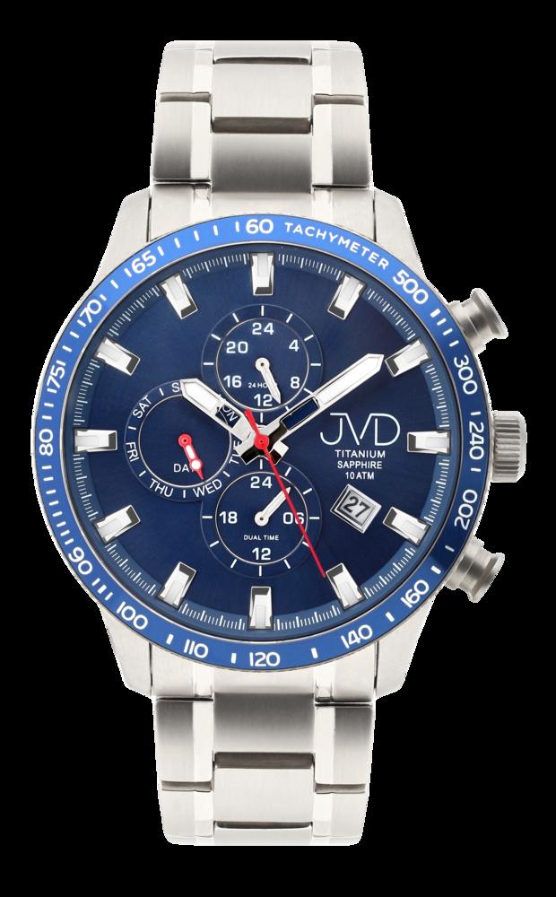 JVD Pánské Titanové vodotěsné náramkové hodinky JVD JE2003.2
