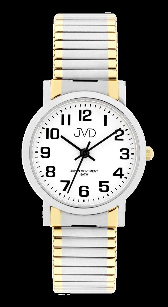 JVD Dámské čitelné přehledné hodinky JVD J4012.7