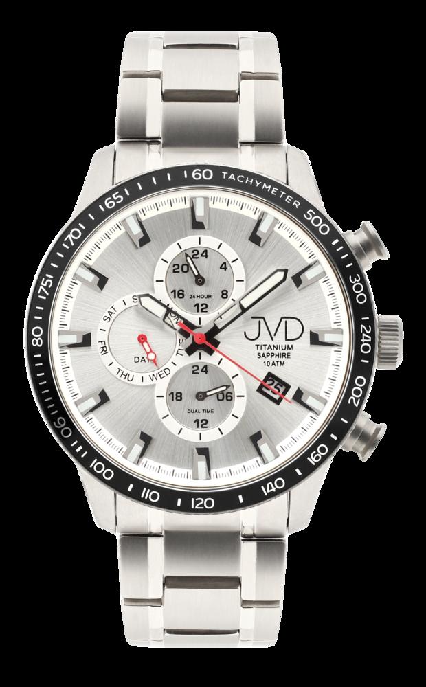 JVD Titanové vodotěsné náramkové hodinky JVD JE2003.4