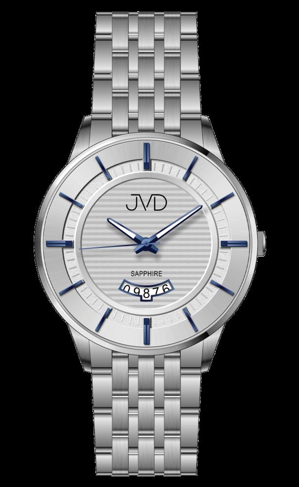 JVD Pánské náramkové hodinky se safírovým sklem JVD JE613.1