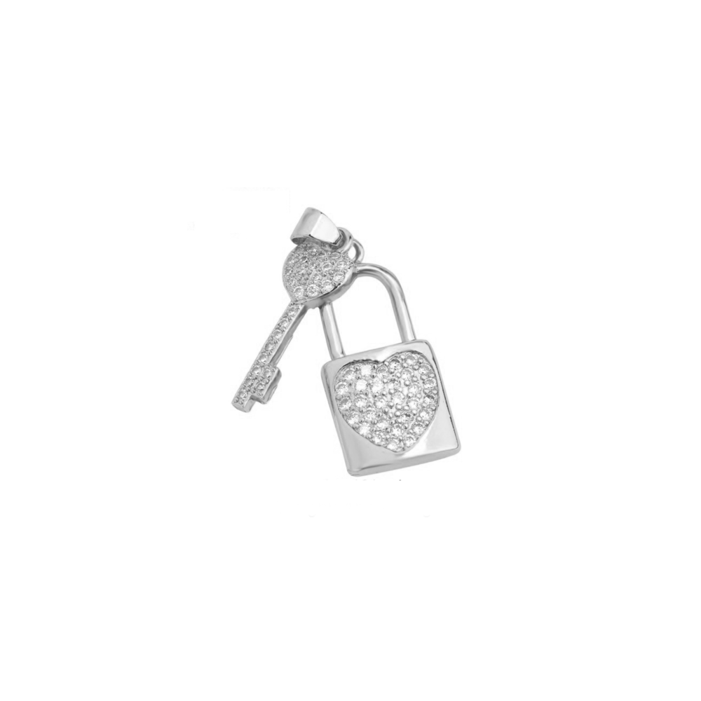 JVD Stříbrný přívěsek se zirkony SVLP0779XH2BI00