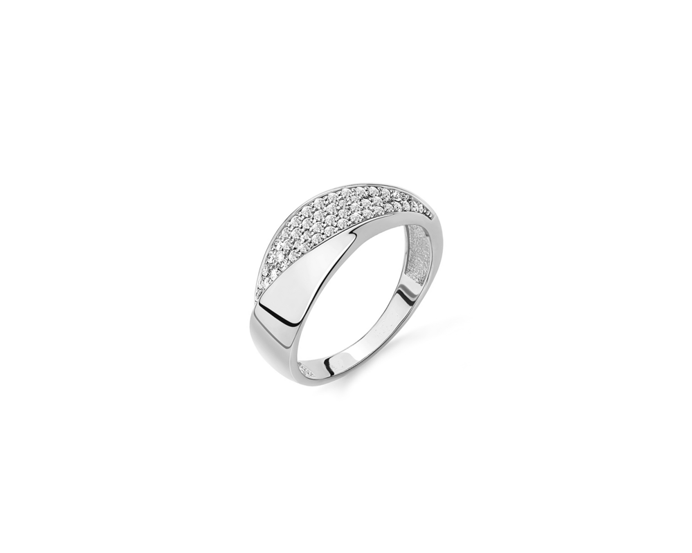 JVD Stříbrný dámský prsten 925/1000 SVLR0381XH2BI56