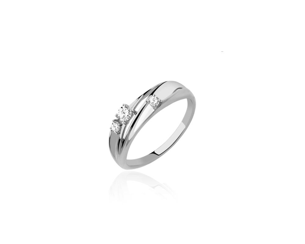 JVD Stříbrný dámský prsten 925/1000 SVLR0388XH2BI58
