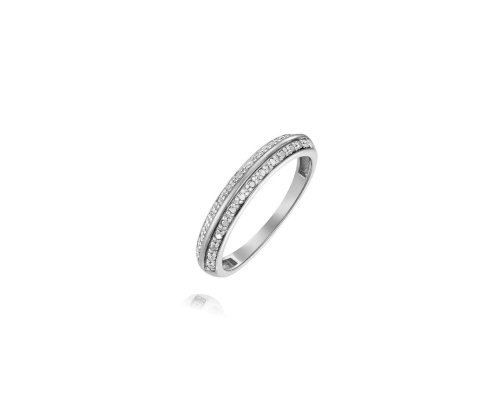 JVD Stříbrný dámský prsten 925/1000 SVLR0387XH2BI56