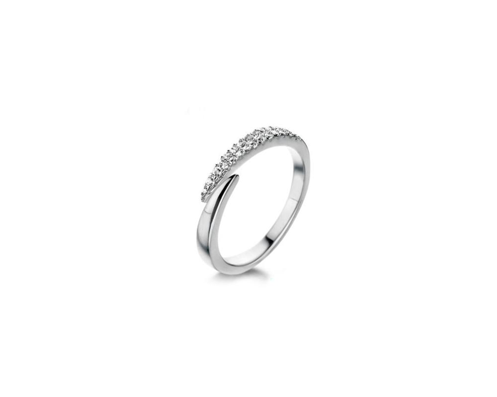 JVD Stříbrný dámský prsten 925/1000 SVLR0397XH2BI60