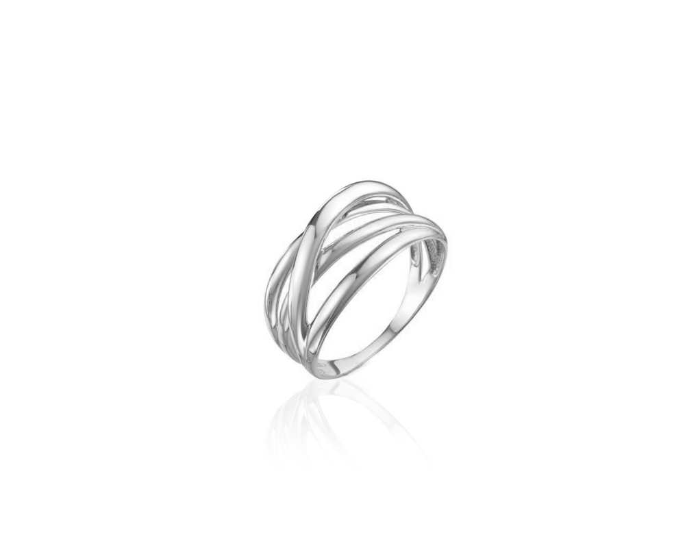JVD Stříbrný dámský prsten 925/1000 SVLR0398XH20058