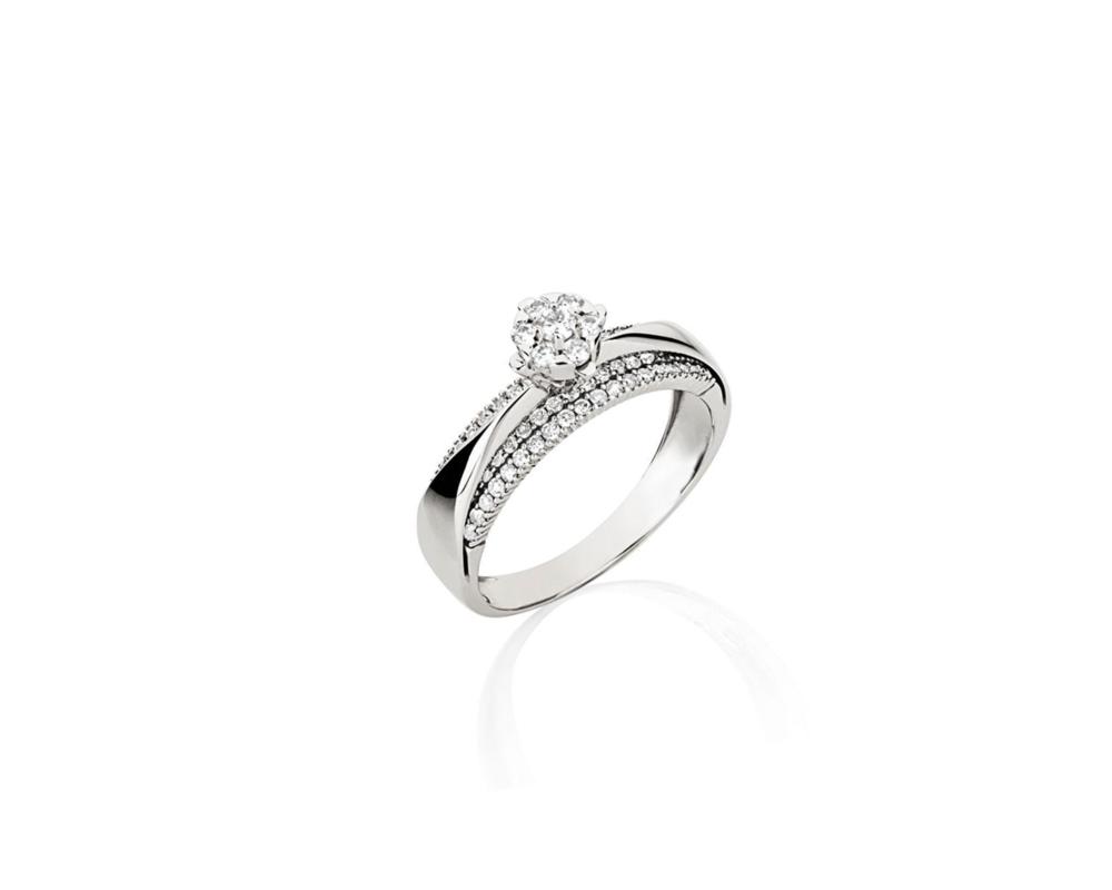 JVD Stříbrný dámský prsten 925/1000 SVLR0399XH2BI56