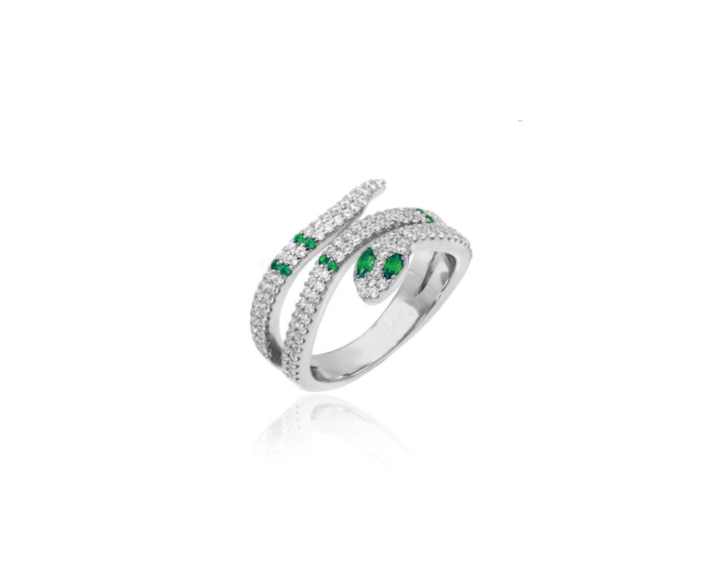 JVD Stříbrný dámský prsten 925/1000 SVLR0433XH2BI58