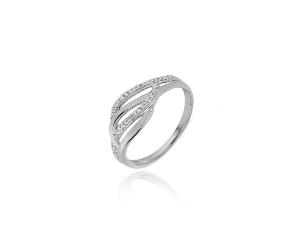 JVD Dámský stříbrný prsten se zirkony 925/1000 SVLR0437XH2BI56